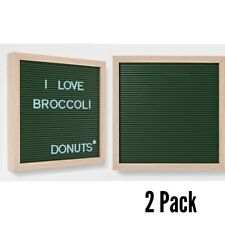 "Room Essentials 2pk Letterboard | 12""x 12"" 