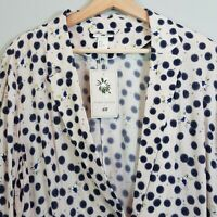 [ ANNA GLOVER X H&M ] Womens Print Jacket NEW  | Size AU 14 or US 12