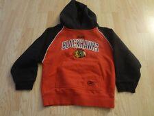 Youth Chicago Blackhawks M (5/6) Hoodie Hooded Sweatshirt Reebok