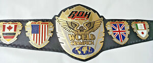 New ROH Championship Belt Ring of Honor Wrestling Belt