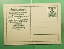 DR WHO 1935 GERMANY UNUSED POSTAL CARD  g21408
