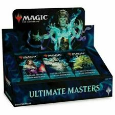 Magic the Gathering Ultimate Masters Booster Box Sealed English WITH TOPPER