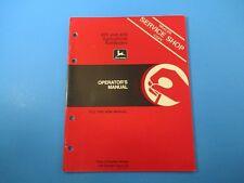 John Deere Operators Manual Om-A45891 855 856 Agricultural Bulldozers M5115