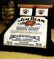 Classic Jim Beam Logo Duvet | Doona Quilt Cover Set | Single