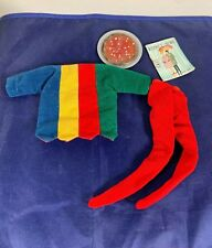 Vintage Ideal Tammy Doll Pizza Party Outfit 9115-7