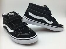 """Vans Men's/ Women's Shoes """"Sk8-Mid Reissue V""""--Black/True White"""
