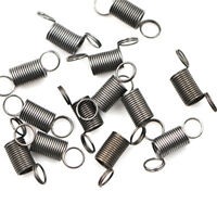 10pcs Metal Small Tension Spring With Hook DIY Remote Car Shock Absorber Toy  NT