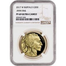 2017-W American Gold Buffalo Proof (1 oz) $50 - NGC PF69 UCAM