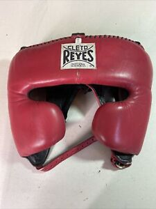 Cleto Reyes Classic Training Cheek Protection Boxing Headgear size large