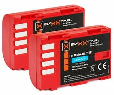 2x BAXXTAR Akku Panasonic DMW-BLF19E Lumix DC G9 GH5 GH5s DMC GH3 GH4 GH4R usw