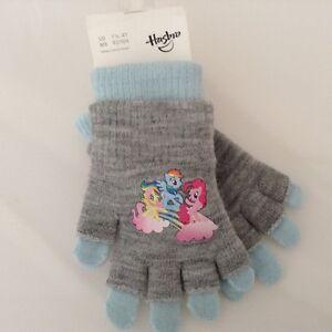NWT Girl's Sz: 1 1/2 - 4Y, Hasbro Gloves, Gray, made in Korea