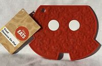 Disney Store Eats Mickey Mouse Shorts Silicone Trivet Hot Pad Worktop Protector