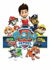Full page Large Paw Patrol Iron on Transfers
