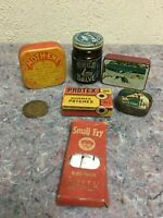 Lot of Vintage Advertising Items-Tins-RCA Victor +