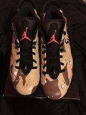 JORDAN 6 VI RETRO LOW infrared supreme custom sz11.5 ds