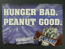 Milky Way Midnight Candy Bar Color Promotional Promo Advertising Postcard 2000