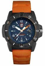 LUMINOX 3603 GENTS NAVY SEAL BLUE DIAL ORANGE STRAP MEN'S WATCH