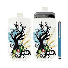 Housse coque étui pochette pour HTC Radar avec motif HF03 + Stylet luxe