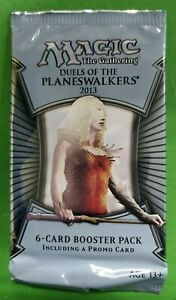 Magic The Gathering Duels of the Planeswalkers Serra Avatar Promo Booster MTG