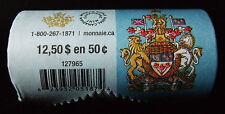 ** Canada 50-cent Special Edition Wrap Circulation Roll (2014) SOLD OUT! **