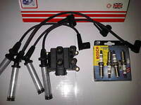 FORD KA 1.3 1.3i DURATEC NEW HT IGNITION LEADS,COIL PACK & SPARK PLUGS 2003-2005