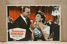 SINDACATO DI CHICAGO fotobusta poster O'Keefe Abbe Lane Cigarette Zippo L20