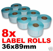 16x LABEL ROLLS for DYMO & SEIKO SII smart printers - 2080 Labels - 99012