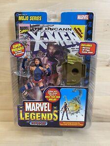 Psylocke Marvel Legends Action Figure Mojo Series New Sealed w/Comic ToyBiz