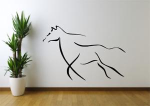 Modern Horse Animal Wall Art Decal Sticker A86