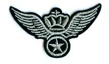 Air Force Army Aufnäher Army Patch Wings & Crown Armee US x