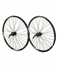 "26"" PAIR Mach Neuro 6 Bolt Disc Cassette Hub MTB Front Rear Bike Wheels"