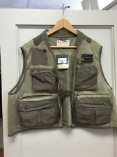 Redington First Run Fly Fishing Vest Grit/Terra 2XL/3XL NWT