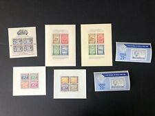 Latin America Panama Paraguay Salvador Honduras mnh stamp sheets