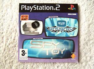 30280 Eye Toy Antigrav / Spy Toy Demos - Sony PS2 Playstation 2 (2005) SCED 5379