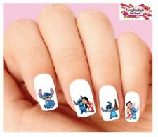Waterslide Nail Decals Set of 20 - Lilo & Stitch Assorted