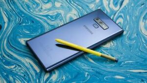 Samsung Galaxy Note 9 - 128GB - Ocean Blue (Unlocked) All Original & IMMACULATE!