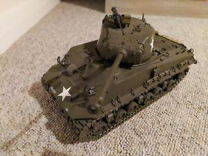 General George S Patton M4-A3 Sherman Tank 1:24 Franklin Mint Precision Models