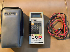 Fluke Digital 8024B Multimeter w/Case and Probes - Fully Functional