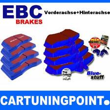 EBC PASTILLAS FRENO delant. + eje trasero BlueStuff para SEAT IBIZA 5 6j1