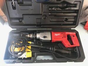 Milwaukee DD2-160 XE 2 Speed Dry Diamond Core Drill 110v - EX DEMO