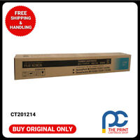 Original CT201214  Fuji Xerox Cyan Toner Cartridge Docucentre III 2200 2201 3300