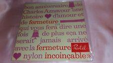 charles aznavour-ep rare france-voir photos
