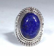 Lapis Lazuli Sterling Silver Fine Rings