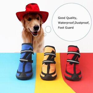 Waterproof Anti-slip Shoes For Small Medium Large Dog Boots Winter Dog Rain Boot