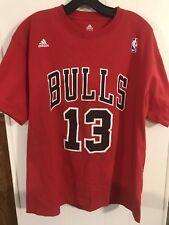Chicago Bulls Number 13 Noah Adidas T-Shirt Size Large