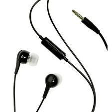 For Galaxy A01 A51 - WIRED EARPHONES HEADPHONES HANDSFREE MIC 3.5MM HEADSET