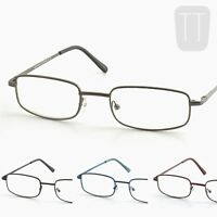 New High Quality Rimmed READING GLASSES - Black, Blue & Brown +1.0+1.5+2+2.5+3.0