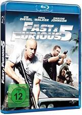 Blu-ray/ Fast & Furious 5 - Paul Walker, Vin Diesel & Dwayne Johnson !!