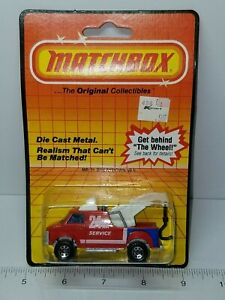 VINTAGE 1985 MATCHBOX BREAKDOWN VAN NO. MB21