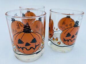 Yankee Candle Votive Holder Halloween Jack-O-Lantern Pumpkin Candy Corn Lot Of 3